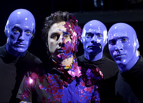Scrubs, Zach Braff, Blue Man Group