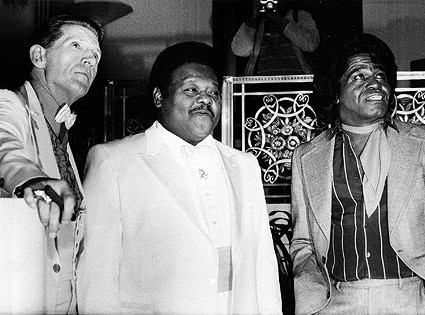 Jerry Lee Lewis, Fats Domino, James Brown