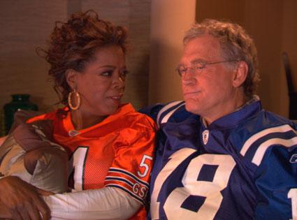 Oprah Winfrey, David Letterman