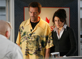 House: Hugh Laurie, Lisa Edelstein