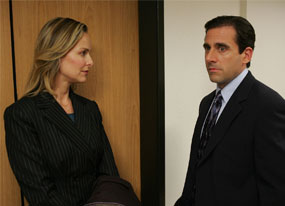 The Office: Steve Carell, Melora Hardin