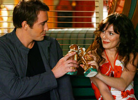 Lee Pace, Anna Friel, Pushing Daisies