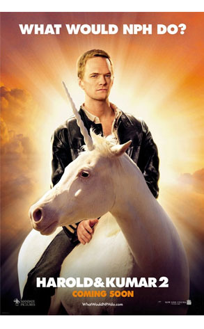 """What Would NPH Do?"" Harold & Kumar 2 Poster"