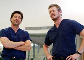 Patrick Dempsey, Eric Dane, Grey's Anatomy