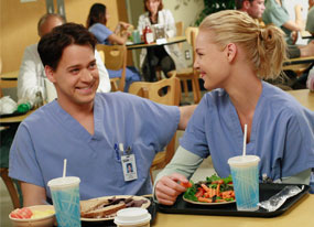 Katherine Heigl, T.R. Knight, Grey's Anatomy