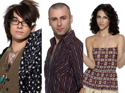 Christian Siriano, Rami Kashou, Jillian Lewis (Project Runway)