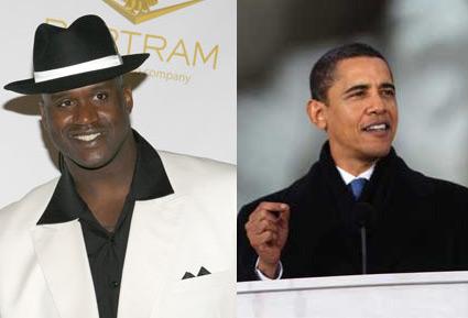 Shaquille O'Neal, Barack Obama