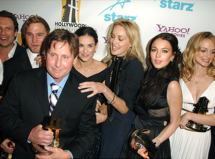 Christian Slater, Brian Geraghty, Demi Moore, Emilio Estevez, Sharon Stone, Lindsay Lohan, Heather Graham