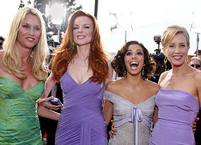 Nicollette Sheridan, Marcia Cross, Eva Longoria, Felicity Huffman