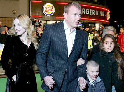 Madonna, Guy Ritchie, Kids