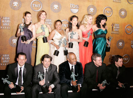 Grey's Anatomy cast at SAG Awards