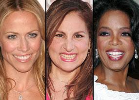 Sheryl Crow, Kathy Najimy, Oprah Winfrey