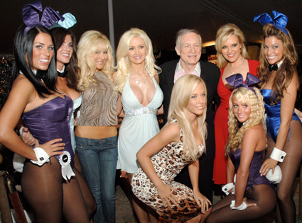 Hugh Hefner, The Girls and Playboy Bunnies