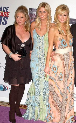 Kathy Hilton, Nicky Hilton, Paris Hilton