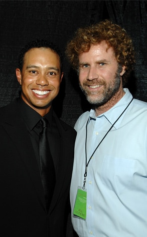 Tiger Woods, Will Ferrell