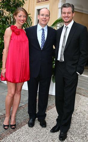 Eric Dane, Rebecca Gayheart, Prince Albert of Monoco