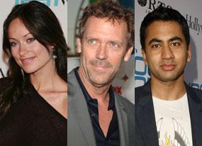 Olivia Wilde, Hugh Laurie, Kal Penn