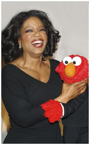 Oprah Winfrey, Elmo, Sesame Workshop's Second Annual Benefit Gala