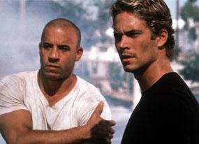 Vin Diesel, Paul Walker, Fast and the Furious