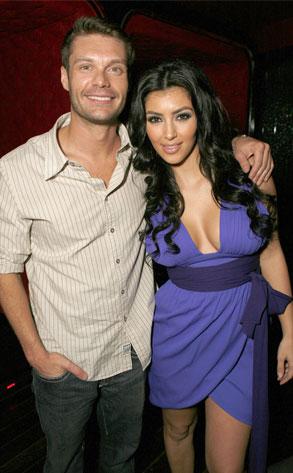 Kim Kardashian, Ryan Seacrest