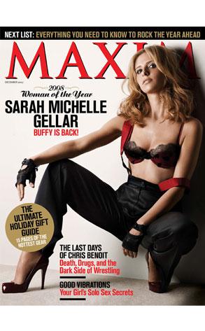 Sarah Michelle Gellar, Maxim