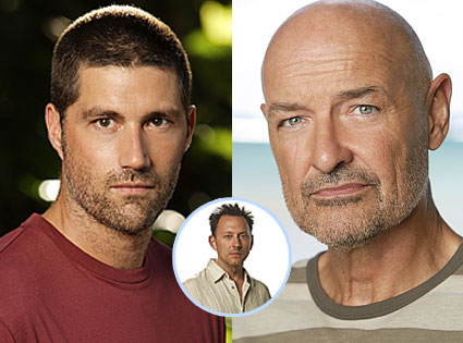 Matthew Fox, Terry O'Quinn, Michael Emerson, Lost