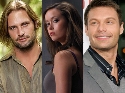 Josh Holloway (Lost), Summer Glau (Terminator: The Sarah Connor Chronicles), Ryan Seacrest (American Idol)