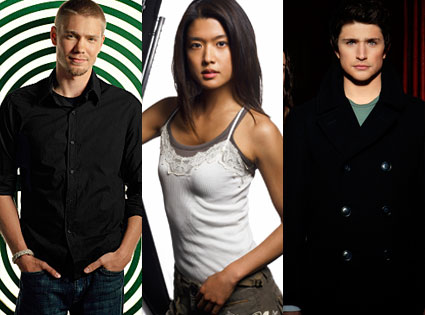 Chad Michael Murray (One Tree Hill), Grace Park (Battlestar Galactica), Matt Dallas (Kyle XY)