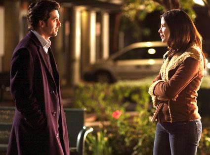 Lauren Stamile, Patrick Dempsey, Grey's Anatomy