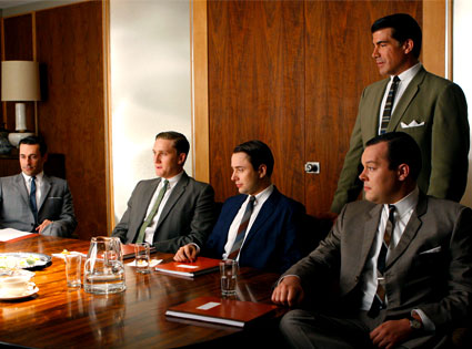 Sterling Cooper boys, Mad Men