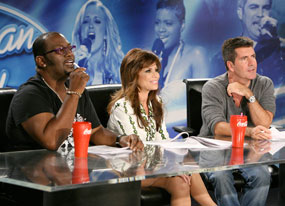 American Idol: Randy Jackson, Paula Abdul, Simon Cowell