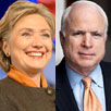 Hillary Clinton, John McCain