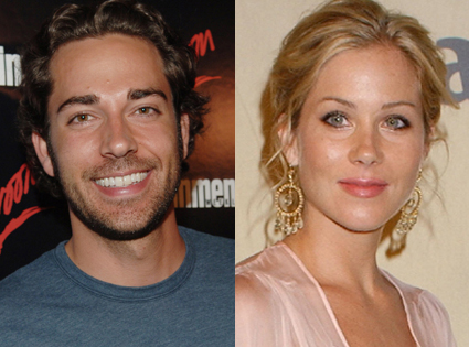 Christina Applegate, Zachary Levi