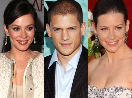 Anna Friel, Wentworth Miller, Evangeline Lilly