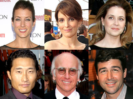 Kate Walsh, Tina Fey Tina Fey, Jenna Fisher, Daniel Dae Kim, Larry David, Kyle Chandler
