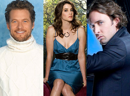James Tupper (Men in Trees), Cobie Smulders (How I Met Your Mother), Alex O'Laughlin (Moonlight)
