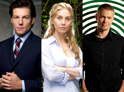 Jamie Bamber (Battlestar Galactica), Elizabeth Mitchell (Lost), Chad Michael Murray (One Tree Hill)