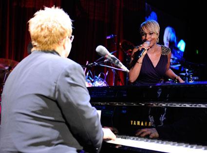 Elton John and Mary J. Blige