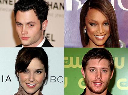 Penn Bagdley, Tyra Banks, Sophia Bush, Jensen Ackles