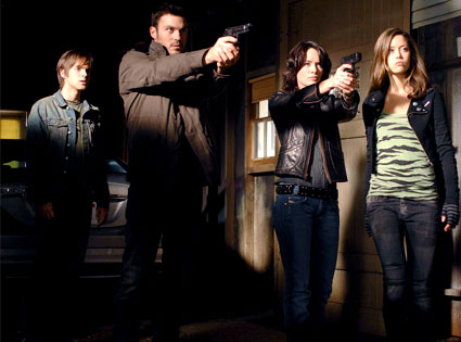 Thomas Dekker, Brian Austin Green, Lena Headey, Summer Glau, Terminator: The Sarah Connor Chronicles