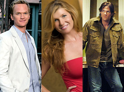 Neil Patrick Harris (How I Met Your Mother), Connie Britton (Friday Night Lights), Jared Padelecki (Supernatural)