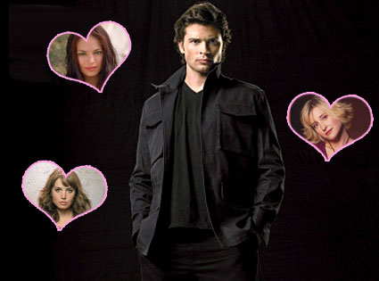Tom Welling, Kristin Kreuk, Erica Durance, Allison Mack (Smallville)