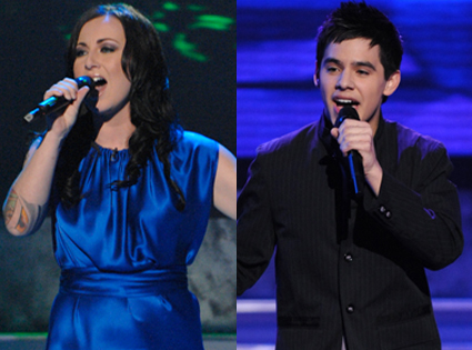 David Archuleta, Carly Smithson