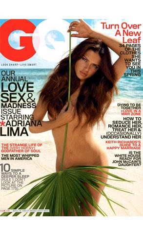 Adriana Lima, GQ Magazine
