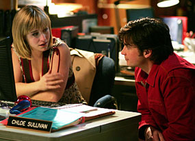 Smallville, Allison Mack, Tom Welling