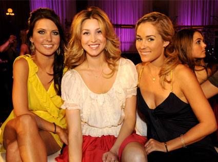 Audrina Patridge, Whitney Port, Lauren Conrad