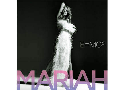 Mariah Carey, E=MC (squared) Album Cover