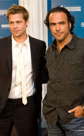Alejando Gonzalez Inarritu, Brad Pitt