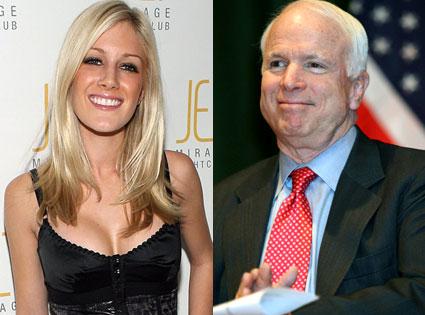 Heidi Montag, John McCain