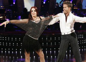 Dancing With The Stars, Priscilla Presley ,LOUIS VAN AMSTEL